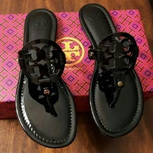 Tory Burch Miller Sandals New in box